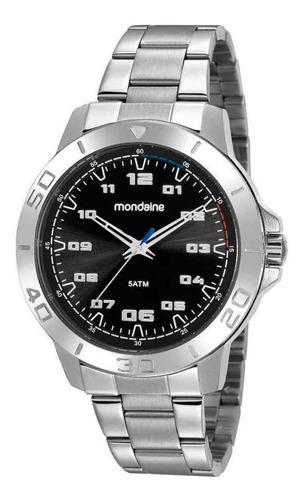 Imagem 1 de 1 de Relógio Masculino Prata Mondaine 99468g0mvne2