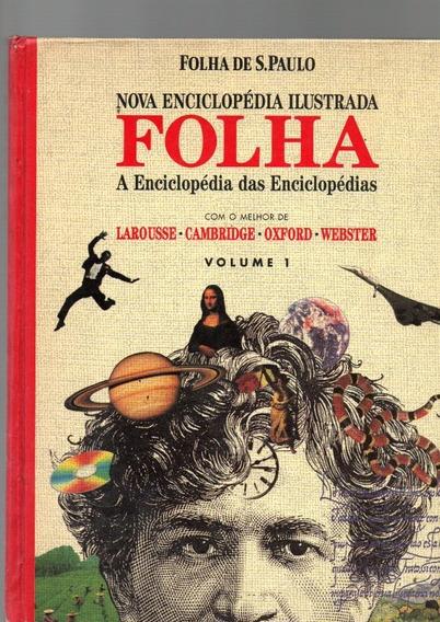 Nova Enciclopédia Ilustrada Folha São Paulo Vol 1 E 2 /1996