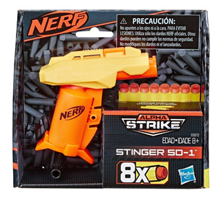 Nerf Alpha Strike Stinger Sd1 Lanza Dardos E6972 Educando