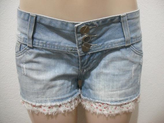 Shorts Jeans Sawary Tam 38 Usado Bom Estado