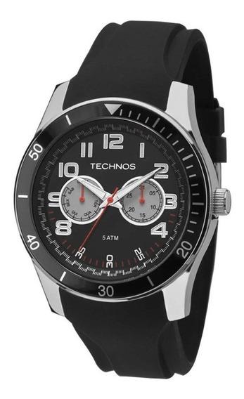 Relógio Technos Masculino 6p25bc/8p, C/ Garantia E Nf