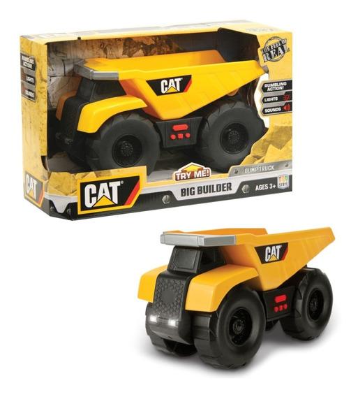 Cat Maquinas Vehiculos De Construccion Luz Sonido Orig Intek
