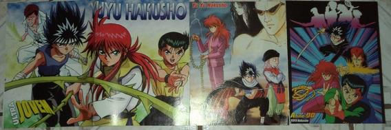 Lote Poster Ultra Jovem Slayers Yuyu Hakusho Angelic Layer