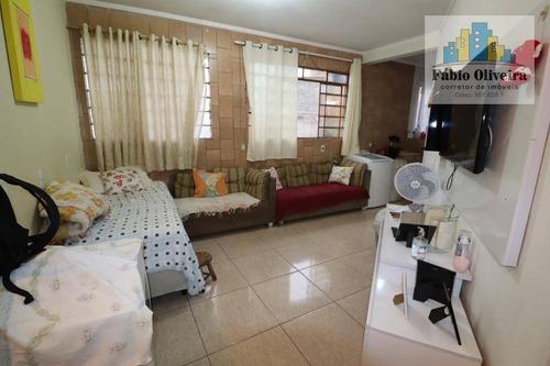 Casa Com 3 Dormitórios À Venda, 90 M² Por R$ 160.000,00 - Condomínio Maracanã - Santo André/sp - Ca0283