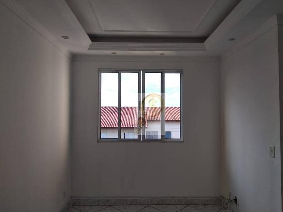 Apartamento Com 2 Dormitórios Para Alugar, 48 M² Por R$ 700,00/mês - Jardim São Miguel - Ferraz De Vasconcelos/sp - Ap0025