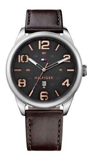 Relógio Tommy Hilfiger Masculino Couro Marrom - 1791157