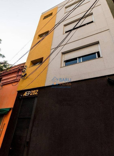 Studio Para Alugar, 24 M² Por R$ 1.100,00/mês - Campos Elíseos - São Paulo/sp - St0057