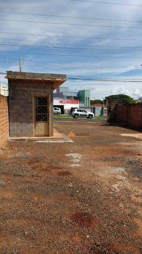Imagem 1 de 7 de Terreno Para Alugar, 430 M² Por R$ 3.500,00/mês - Jardim Palma Travassos - Ribeirão Preto/sp - Te0037
