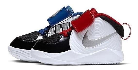 Tenis Nike Team Hustle 9 Blanco Ck0617 001