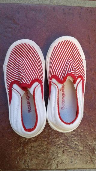 Panchas/alpargatas/zapatillas N 23