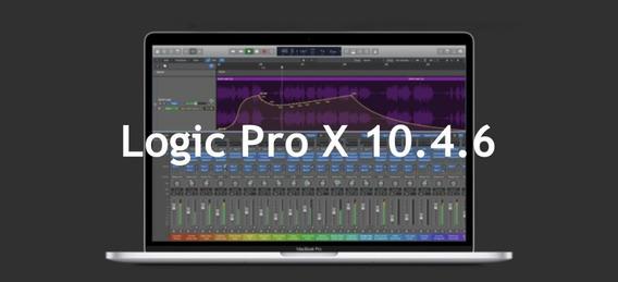 Logic Pro X 10.4.6 Completo E Atualizado Mac + Instalação