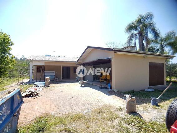 Casa Com 3 Dormitórios À Venda, 120 M² Por R$ 372.500,00 - Travessão - Dois Irmãos/rs - Ca3076