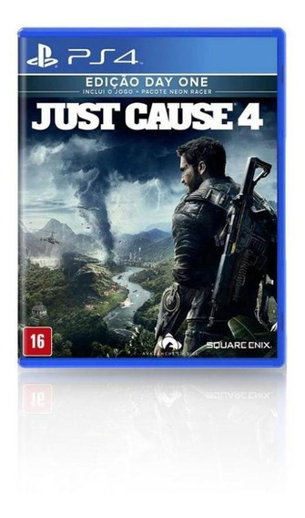Jogo Game Just Cause 4 Day One Edition - Ps4