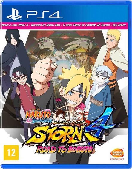 Naruto: Storm 4 Road To Boruto Em Português Mídia Física Ps4