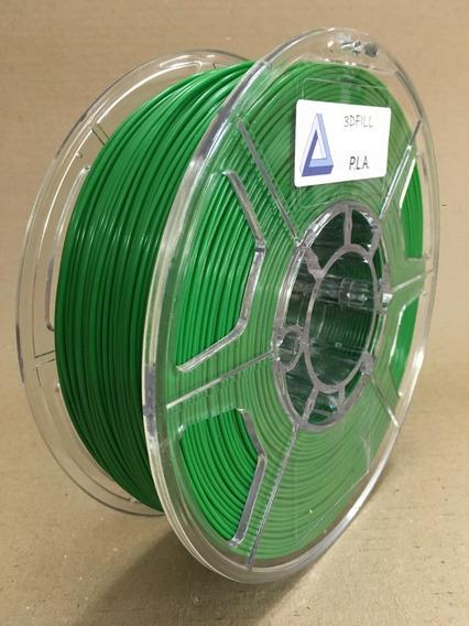 Filamento 3d Pla _ 1,75 Mm _ 1kg - Verde_frete Grátis
