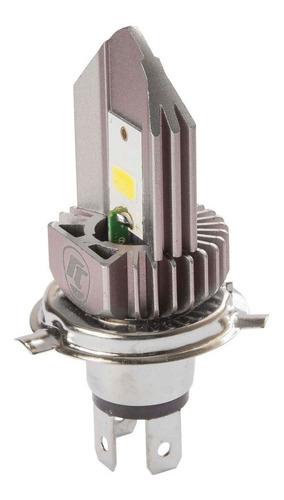 Imagem 1 de 6 de Lampada Do Farol H4 Super Branca Led  Cbx 250 Twister