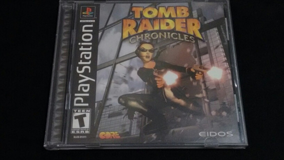 Tomb Raider Chronicles Playstation One Ps1