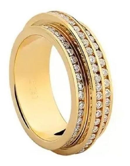Aliança Feminina Ouro E Diamantes 18k 750/1000 Vivara Origin