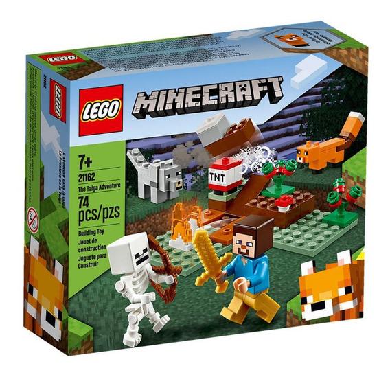 Lego Minecraft - Aventura Em Taiga - 21162
