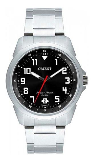 Relógio Orient Masculino Mbss1154a P2sx Clássico Prateado