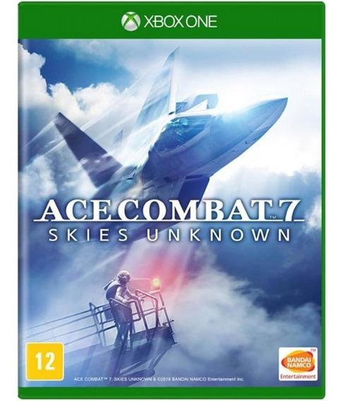 Ace Combat 7 Skies Unknown Xbox One Mídia Física Lacrado