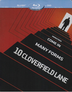 Avenida Cloverfield 10 Diez Steelbook Pelicula Blu-ray + Dvd