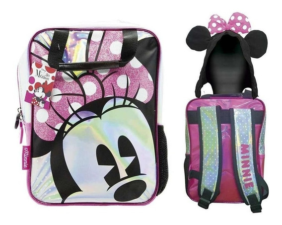Mochila Disney Minnie Mouse De 12