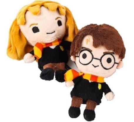 Harry Potter Kit Com 2 Chaveiros De Pelúcia 12cm