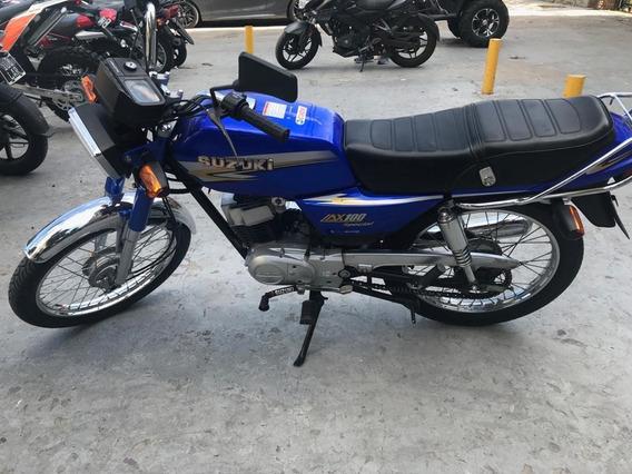 Susuki Ax 100 Usada Seleccionada Globalmotorcycles