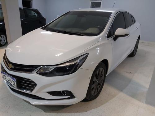 Chevrolet Cruze Ltz At + 2017 Blanco