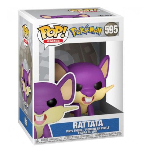 Boneco Funko Pop! Pokémon - Rattata