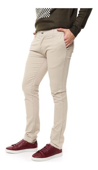 Pantalón De Vestir Gabardina Elastizada Varios Colores!!!