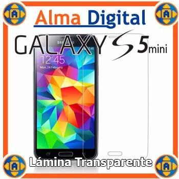 Lamina Protector Pantalla Transparente Samsung S5 Mini Sv