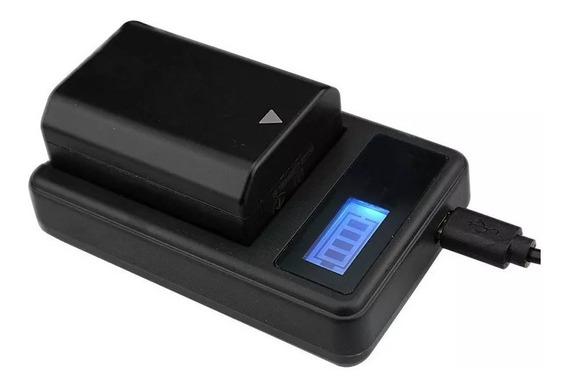 1 Bateria Np-fz100 + Carregador Inteli Sony A9, A7r3, A7iii