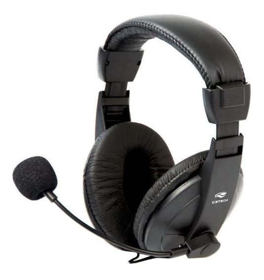 Headset C3 Tech Voicer Confort Mi-2260arc Preto