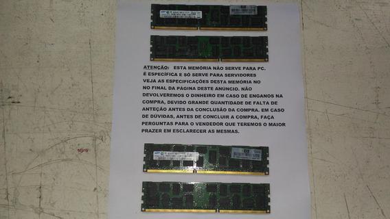 Memória Para Servidor 4gb 2rx4pc3 - 10600r - 09 - 10 E1 - P1