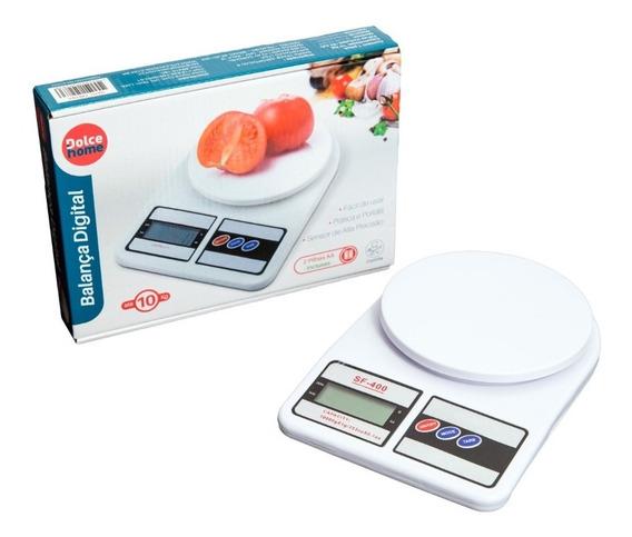 Balança Eletronica Digital De Cozinha Alta Precisão Até 10kg