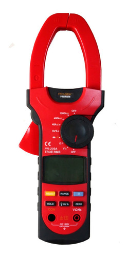 Pinza Amperimétrica Digital Pr-209a Prasek