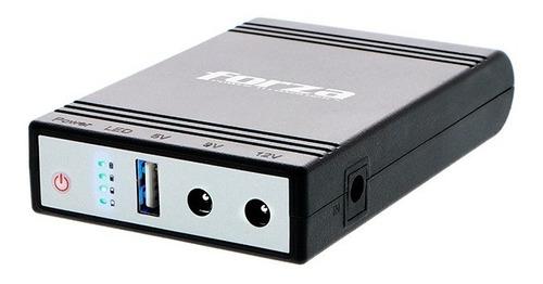Imagen 1 de 10 de Mini Ups Forza Dc-140 Protección Power Bank P/modems 14w Usb
