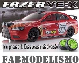 Automodelo Kyosho Fazer Vex Lancer Evolution 1/10 + Drift