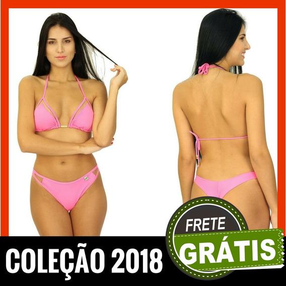 Comprar Biquínis Online Rosa Tiras Tela Tule 4001