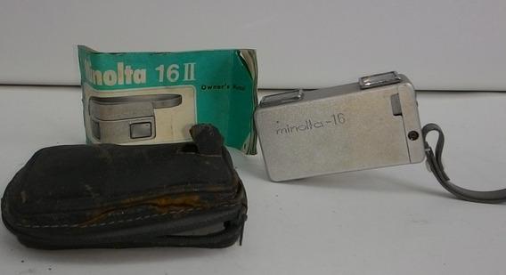 Máquina Fotográfica Minolta 16