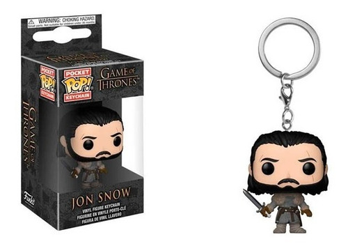 Funko Pop Keychain Game Of Thrones Jon Snow Nuevo Vdgmrs