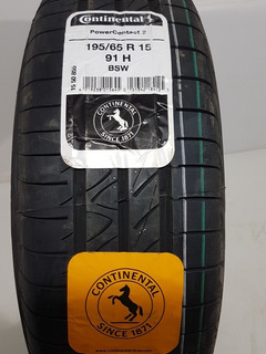 Neumático Continental Powercontact 2 195/65r15 91h Nissan