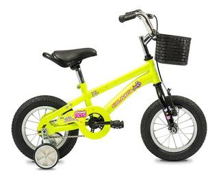 Bicicleta Olmo Niño R12 Cosmo Pets Rueditas
