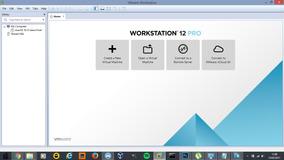 Vmware Workstation Pro V12 - 2017