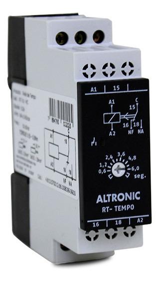 Rele De Tempo Altronic Retardo Na Energização 6s 94-242v