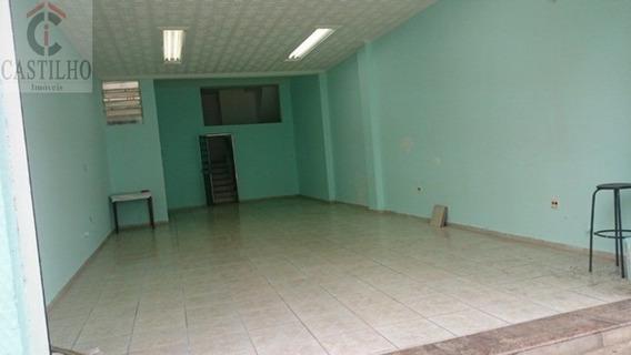 Salão Comercial 280m² Mooca Bom Para Restaurante Com 3 Banheiro E Escritorio - Mo15405