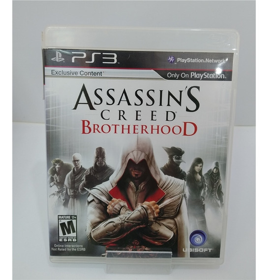 Assassins Creed Brotherhood (seminovo) - Ps3