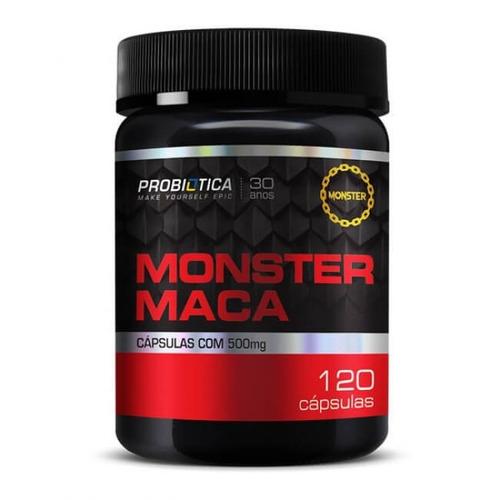 Monster Maca - 120caps - Probiótica